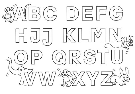 Buchstaben Drucken by Ausmalbild Buchstaben Lernen Buchstaben Lernen Alphabet