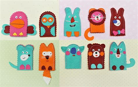 Handmade Puppets For - simple finger puppets for ones to make handmade