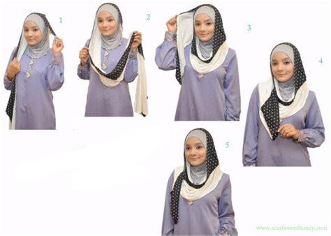 tutorial jilbab yang simpel cara memakai jilbab yang simpel tutorial hijab
