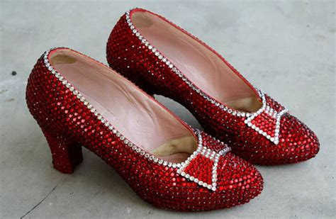 how much are the ruby slippers worth 10 covered shoes to treat your therichest