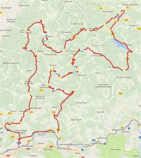 Gps Schwarzwald Motorrad by Schwarzwald All In Motorradtour P 228 Sse Info