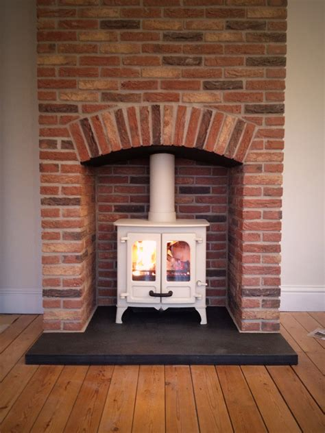 Small Brick Fireplaces by Brick Fireplace Surround Woodburner Search
