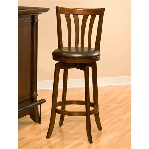 bar stools cherry wood savana 25 5 quot swivel wood counter stool cherry brown