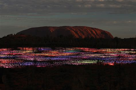 Field Of Light by Ayers Rock Resort Field Of Light Comes Home Vacations
