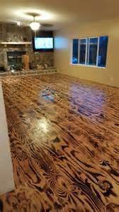 Made Floors by Hubby N I Made These Floors Out Of Plywood N A Torch