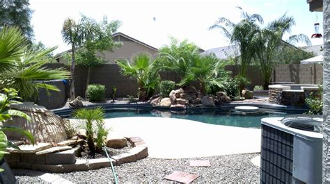 backyard landscaping ideas arizona arizona backyard landscape design with pool yelp