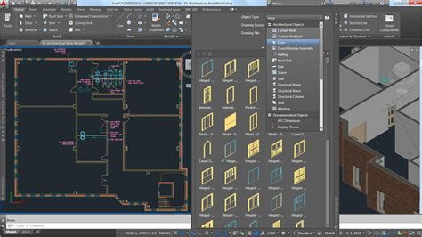 design center window autocad autocad architecture efficient intuitive architectural