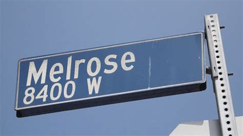 best shops in la the insider s guide to melrose avenue insider s guide to melrose ave 171 cbs los angeles