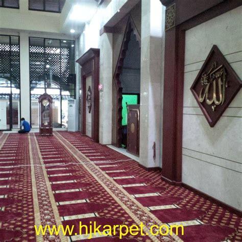 Karpet Masjid Jakarta pemasangan karpet masjid al jihad kodam jaya jakarta