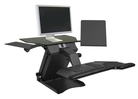 Computer Screen Stand For Desk Ergo Computer Desk Adjustable Monitor And Keyboard Stand Computer Keyboard Interior Designs