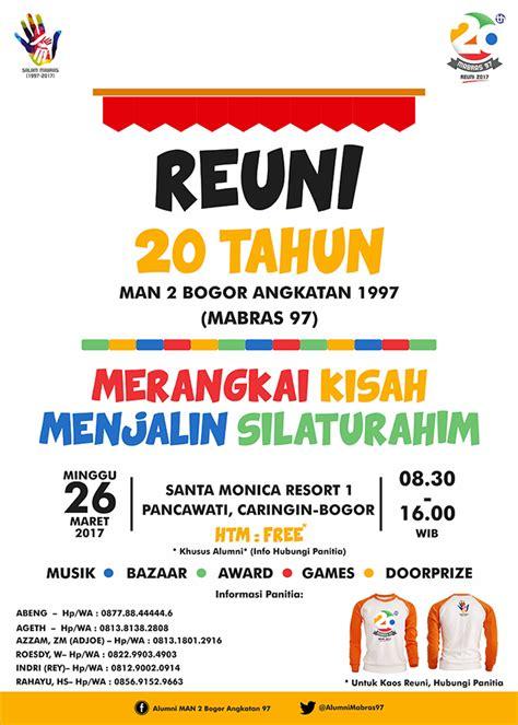 desain brosur reuni sribu desain poster desain poster reuni mabras 97
