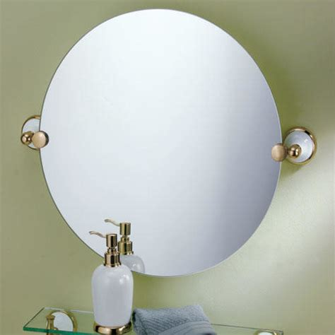 tilting bathroom mirror how to choose and save its beauty 20 quot franciscan round tilting mirror traditional