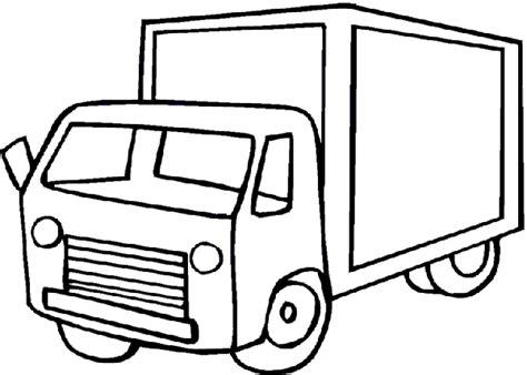 imagenes para pintar niños de dos años dibujos de camiones para colorear y pintar 174 chiquipedia