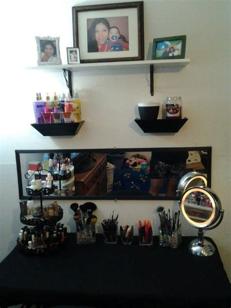 diy makeup vanity stylin 1000 ideas about cheap vanity table on living