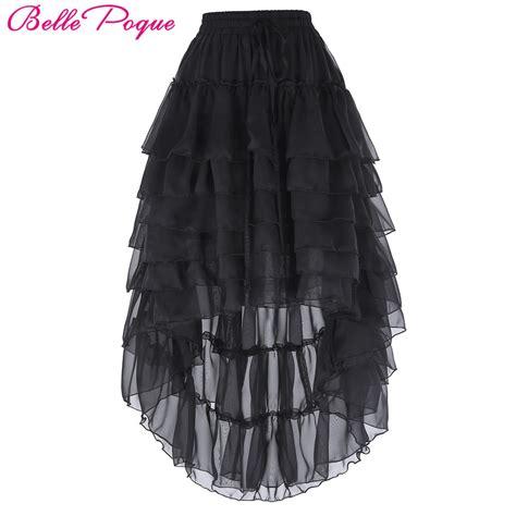 get cheap high low chiffon skirt aliexpress