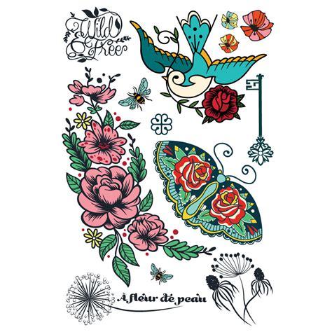 tattoo temporaire quebec tattoo temporaire 192 fleur de peau id 233 e cadeau qu 233 bec