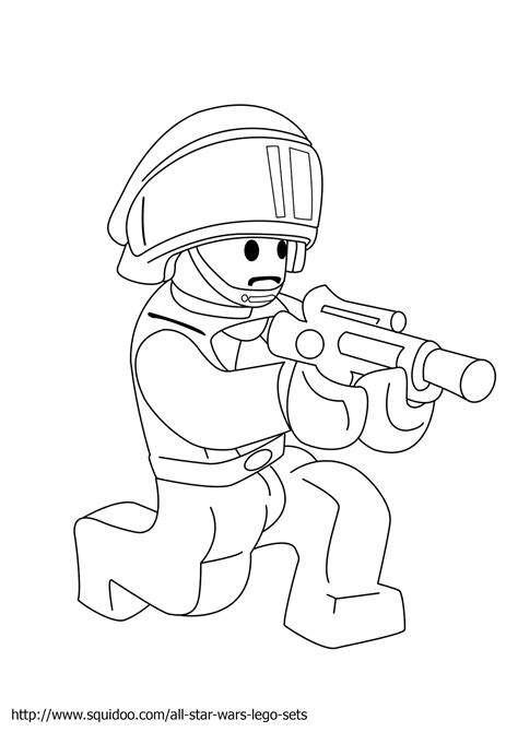 lego soldier coloring pages malvorlagen fur kinder ausmalbilder lego star wars
