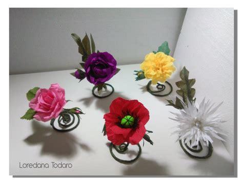 segnaposto con fiori matrimonio con fiori di carta giganti loredana todaro