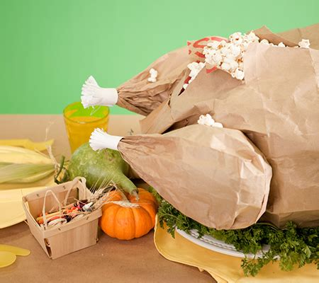 How To Make A Paper Bag Turkey - thanksgiving paper bag turkey for the kid s table disney