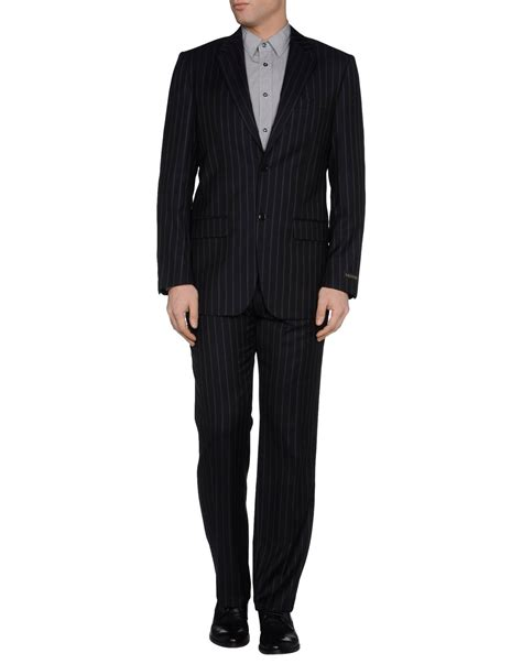 Valentino Suit valentino suits in gray for steel grey lyst