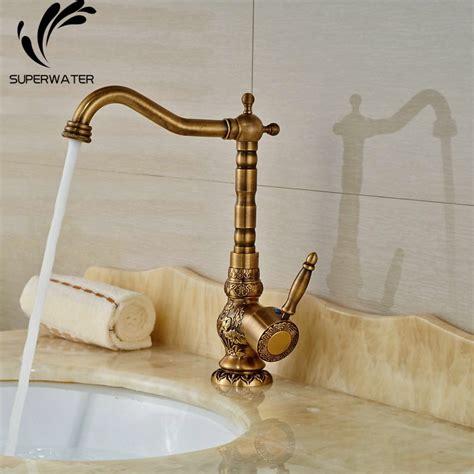 antique brass bathroom sink faucets widespread antique brass bathroom sink faucet mixer tap