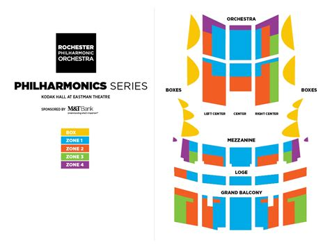 orchestra seating seating charts rochester philharmonic orchestra