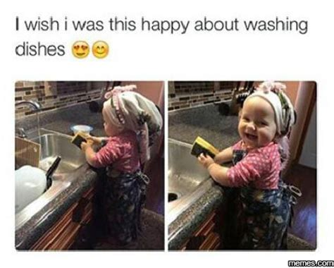 Washing The Dishes Meme - home memes com
