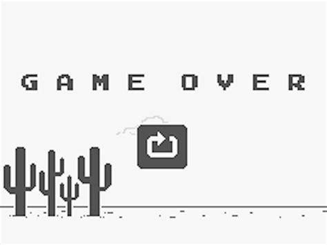 chrome game dino google chrome easter egg t rex mini game business insider