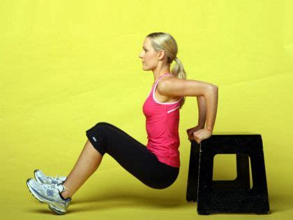 backwards push up bench this is how to get rid of bingo wings for good