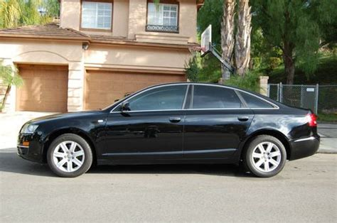 Audi A6 Trim by Buy Used 2006 Audi A6 Premium 3 2l Black Black Wood Trim