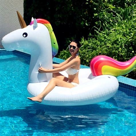 tattoo aftercare swimming pool inflatable unicorn shaped floating mat swimming ring