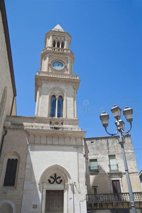 apulia altamura clocktower altamura apulia immagini stock libere da