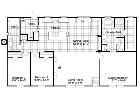 mobile home blueprints 3 bedrooms single wide 71 double wide floor plans palm beach floor plan house plans