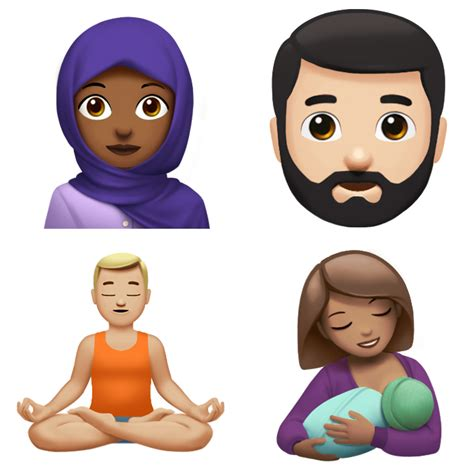 emoji film frau pistole pflanze mann apple previews brand new emojis available on its devices