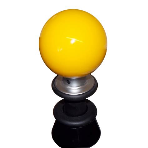 Yellow Shift Knob by Yellow Subaru 6 Speed Shift Knob