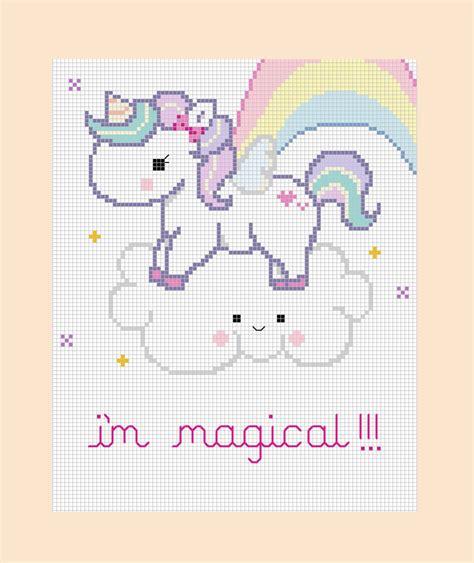 unicorn needlepoint pattern pdf pattern magical unicorn cross stitch pattern by