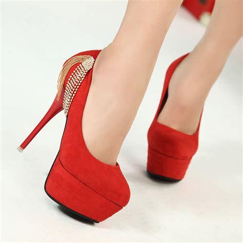 take the platform center stage in platform shoes