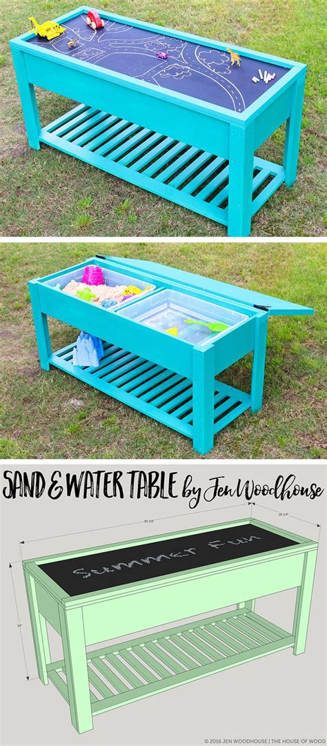 how to build a sand table learn how to build a fun diy sand and water table for your