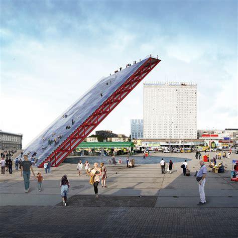 Contemporary House Plans Single Story worlds of el lissitzky worldwide tribune by mdu architetti