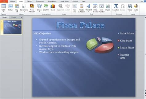 how to make an impressive quad chart in powerpoint 2010