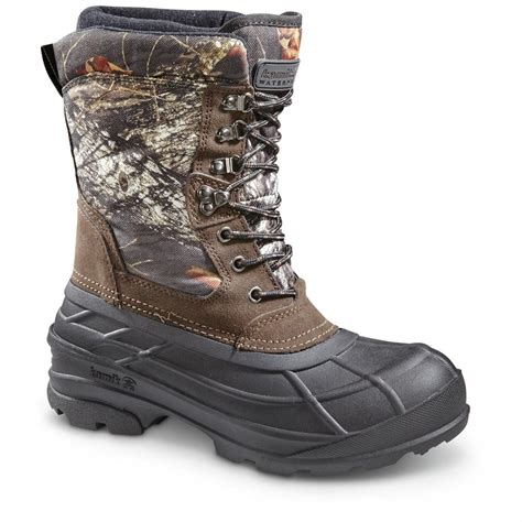 winter shoes kamik s nationcamo insulated winter boots 200 grams