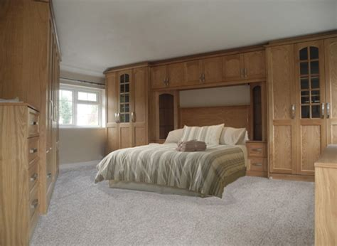 Solid Wood Wardrobes Overbed Fitted Wardrobes Bedroom Furniture
