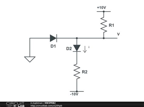 constant voltage drop model diode exle use the constant voltage drop model for the diodes chegg