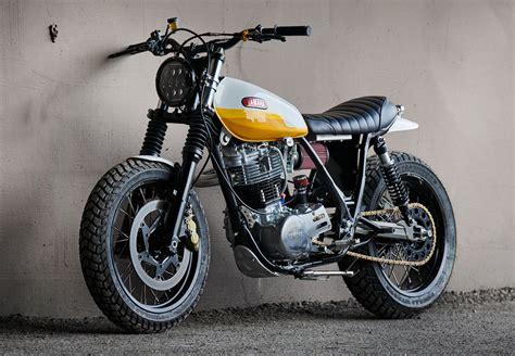 Motorrad Yamaha Sr 500 by Yamaha Sr500 Scrambler By Daniel Peter Bikebound