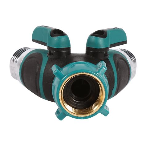 Outside Water Faucet Shut Valve by Npt3 4 Quot Garden Hose Connector 1way 2way Shut Valve