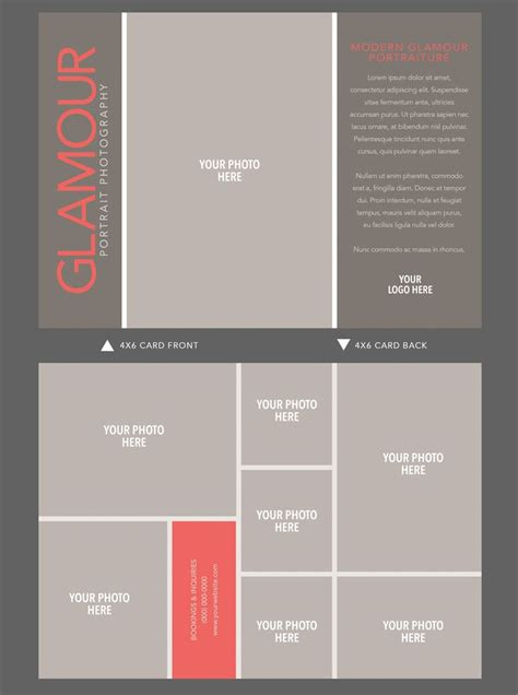 postcard template indesign indesign 4x6 card template