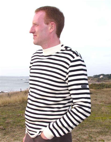 Kitako 2in1 Set Jumper Navy s wool navy blue striped breton sweater royal mer bretagne pullover the nautical