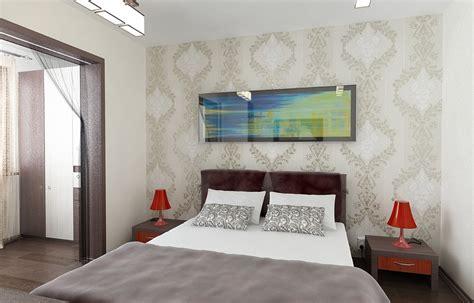 Tapete Hinter Bett by Bilder 3d Interieur Schlafzimmer Wei 223 Braun Vladim 5