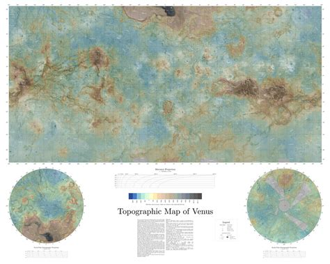 venus map topographic map of venus topographic map of venus descrip flickr