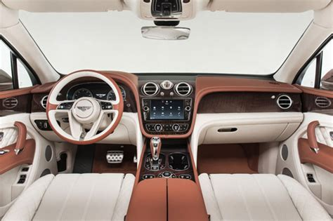 bentley suv 2015 interior 2016 bentayga suv by bentley introduced in frankfurt